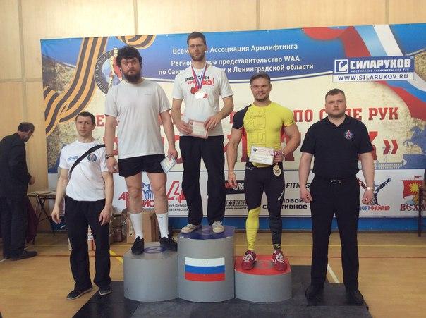 Семенов Сергей - 1 место в абсолютном зачете